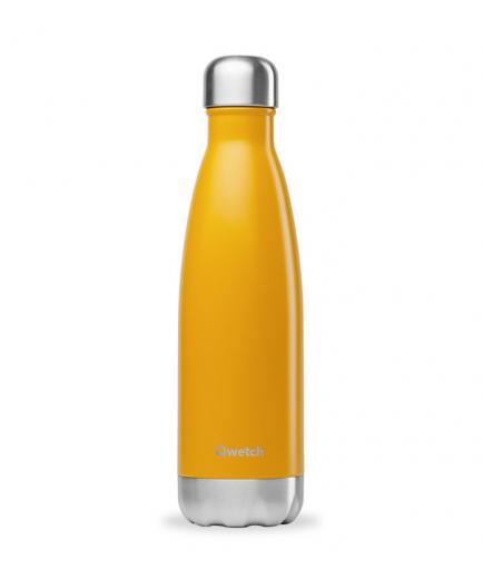 Qwetch - Isothermal Stainless Steel Bottle 500ml - Saffron