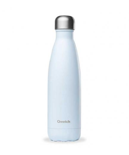 Qwetch - Stainless Steel Isothermal Bottle 500ml - Pastel Blue