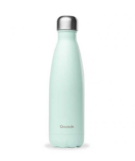 Qwetch - Stainless Steel Isothermal Bottle 500ml - Pastel Green