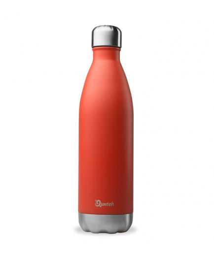 Qwetch - Isothermal Stainless Steel Bottle 750ml - Red
