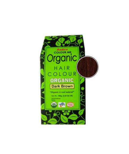 Radico - Organic Haur Colour - Dark Brown