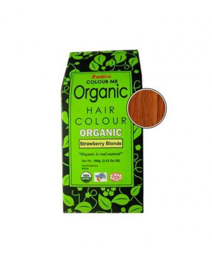 Radico - Organic Haur Colour - Strawberry Blonde