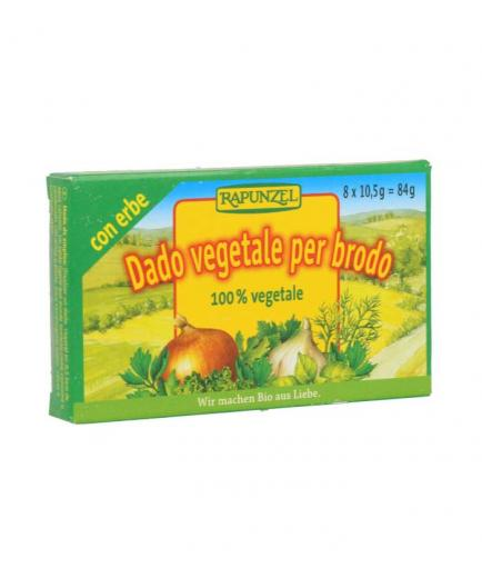 Rapunzel - Organic diced vegetable broth 84g - With herbs