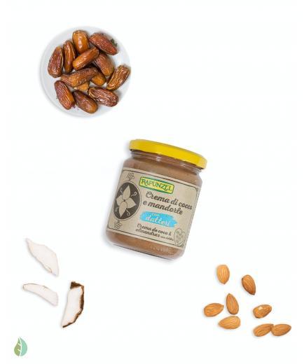 Rapunzel - Bio Coconut and almond cream with dates
