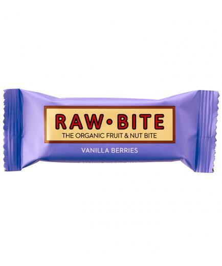 RAWBITE –  Natural Energy Bar - Berries and Vanilla