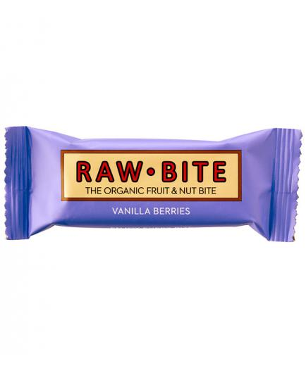 RAWBITE –  Natural Energy Bar - Berries and Vanilla