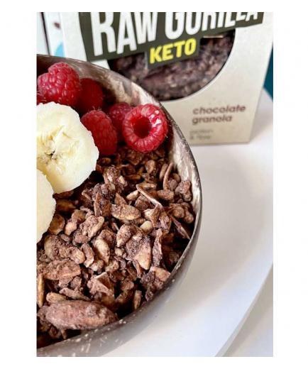 Raw Gorilla - Organic keto granola with cocoa 250g