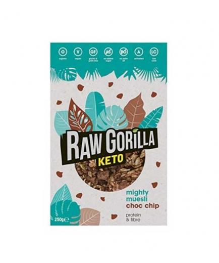 Raw Gorilla - Organic Keto Muesli with Chocolate 250g