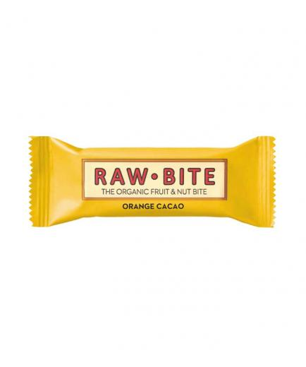 RAWBITE - Natural energy bar - Orange and cocoa