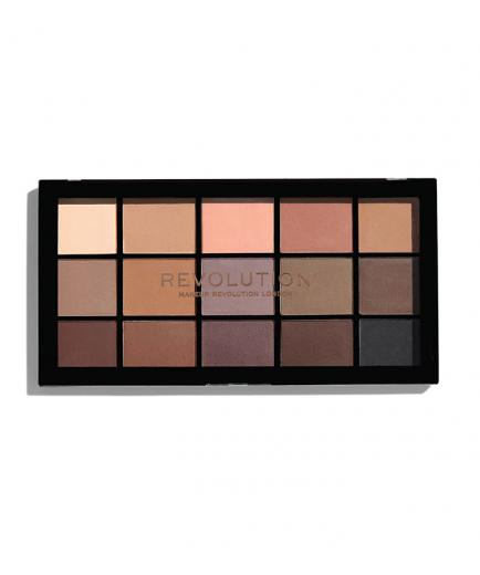 Revolution - Re-loaded Eyeshadow Palette - Basic Mattes