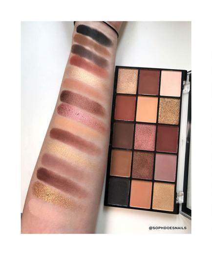 Revolution - Re-loaded Eyeshadow Palette - Velvet Rose
