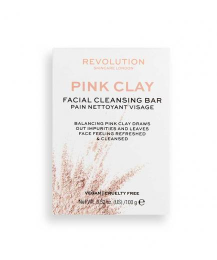 Revolution Skincare - Pink Clay Solid facial soap