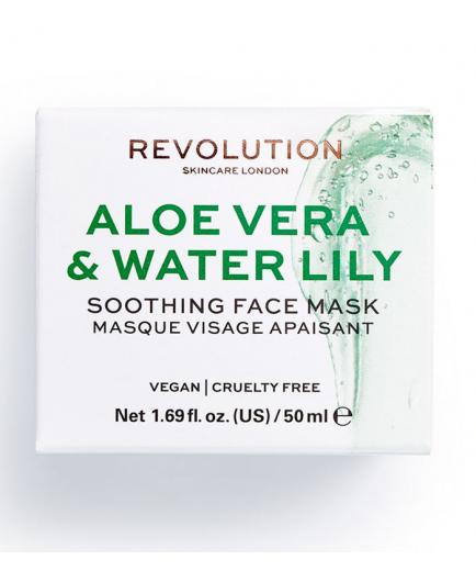 Revolution Skincare - Aloe Vera & Water Lily Soothing face mask