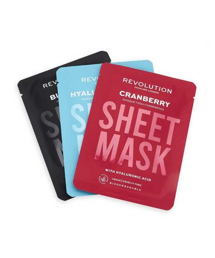 Revolution Skincare - Pack of 3 masks for dehydrated skin