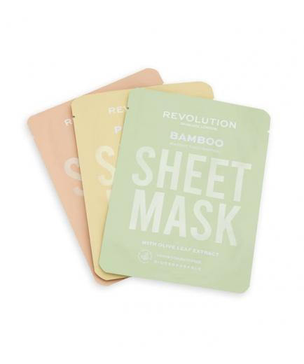 Revolution Skincare - Pack of 3 masks for dry skin