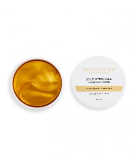 Revolution Skincare - Hydrogel moisturizing patches with colloidal gold Gold Eye