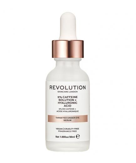 Revolution Skincare - Under Eye Serum 5% Caffeine Solution + Hyaluronic Acid