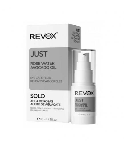 Revox - *Just* - Fluid Eye Contour Rose Water and Avocado Oil