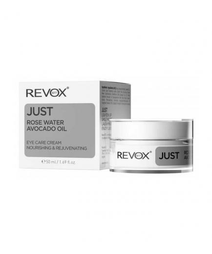 Revox - * Just * - Rose Water and Avocado Oil Eye Cream