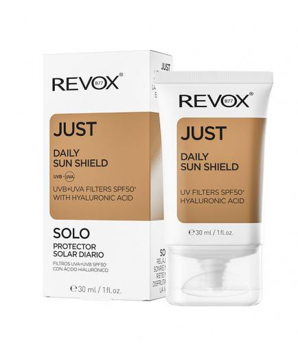 Revox - *Just* - Daily sunscreen SPF50 + with hyaluronic acid