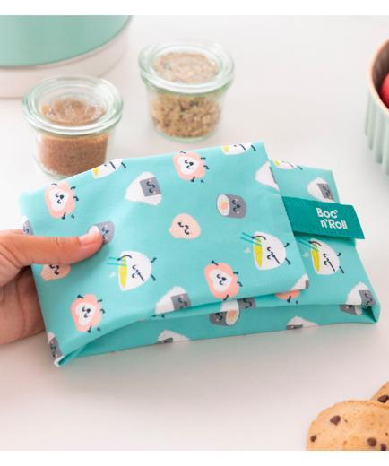 Roll eat - *Mr Wonderful* - Reusable sandwich holder Boc n Roll - Sushi