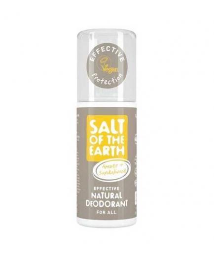 Salt of the Earth - Deodorant Spray - Amber and Sandalwood