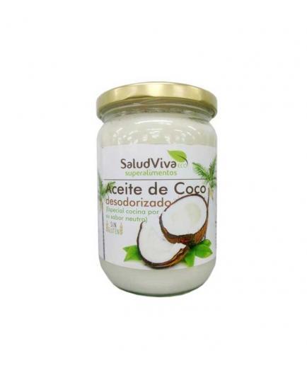 SaludViva Superalimentos - Deodorized Coconut Oil - 565ml