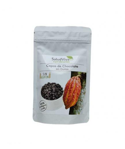 SaludViva Superalimentos - Chocolate flakes in drops 200g