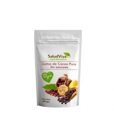SaludViva Superalimentos - Pure cocoa drops without sugars 100g