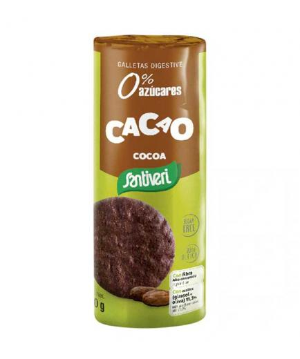 Santiveri - Cookies Digestive 0% added sugars - Cocoa