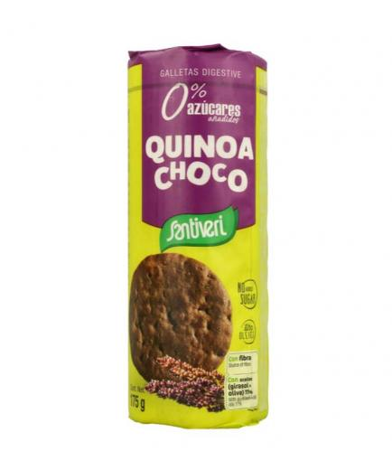 Santiveri - Cookies Digestive 0% added sugars - Quinoa Choco