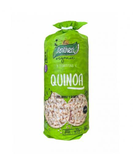 Santiveri - Organic brown rice pancakes with quinoa