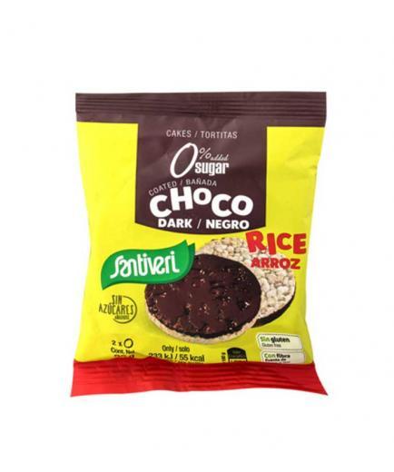 Santiveri - Gluten-free brown rice pancakes - Choco negro