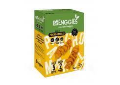 Sanygran - * Buenggies * - Gluten-free vegetable snacks 75g - Yellow skewer