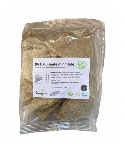 Sanygran - * Legumeat * - Dehydrated mini pea fillets without vegan gluten 250g