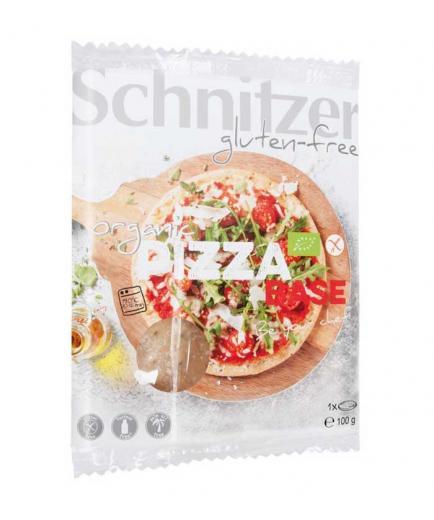Schnitzer - Organic gluten free corn pizza base