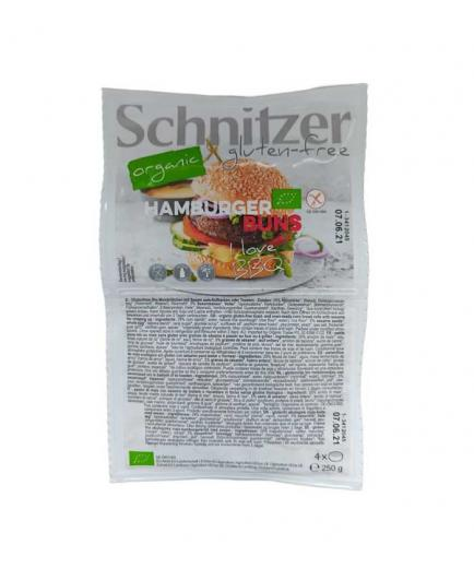Schnitzer - Organic gluten-free corn burger bread 250g