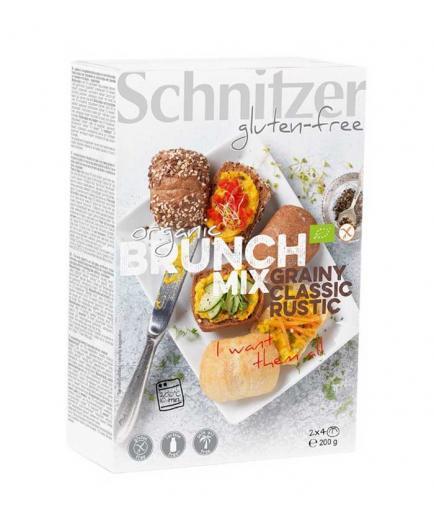 Schnitzer - Gluten Free Corn Rolls Brunch Mix Bio 200g