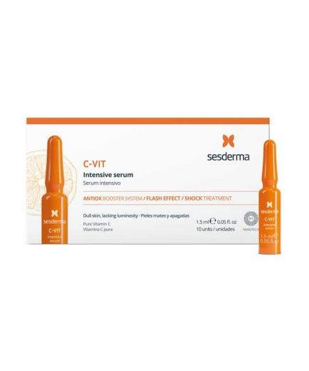 Sesderma - Pack of 10 ampoules with an intensive illuminating serum C-VIT
