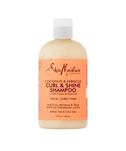 Shea Moisture - Shampoo Curl & Shine - Coconut and Hibiscus