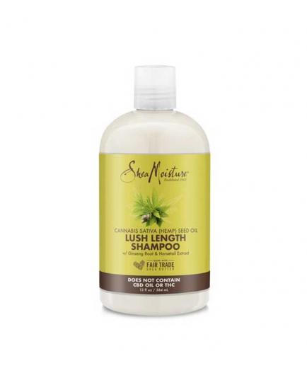 Shea Moisture - Lush Length Shampoo - Cannabis Sativa Seed Oil