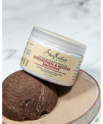 Shea Moisture - Strengthen + Restore Mask - Jamaican black castor oil