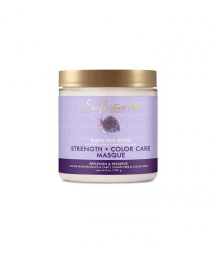 Shea Moisture - Color Protection Mask Strength + Color Care - Purple Rice Water