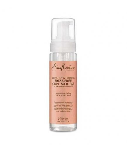 Shea Moisture - Styling Mousse Frizz-Free Curl - Coconut and Hibiscus