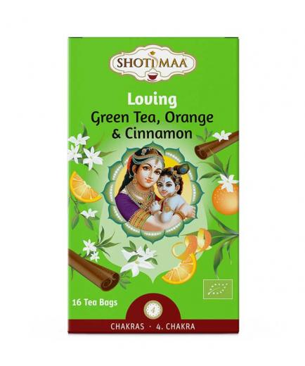 Shoti Maa - Loving Green tea, orange and cinnamon infusion