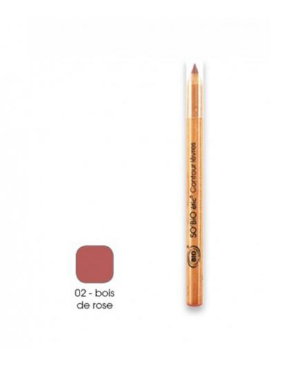 SO'BiO étic - Lipliner Pencil - 02 Rosewood