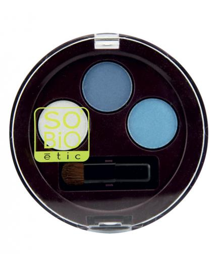 SO'BiO étic - Eye Shadow Trio - 02 Bleu