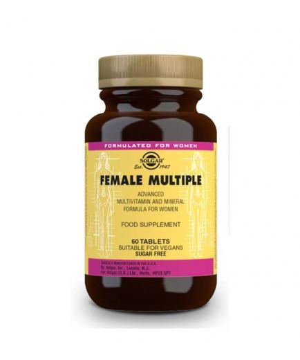 SOLGAR - Food supplement - Female Multiple 60 capsules