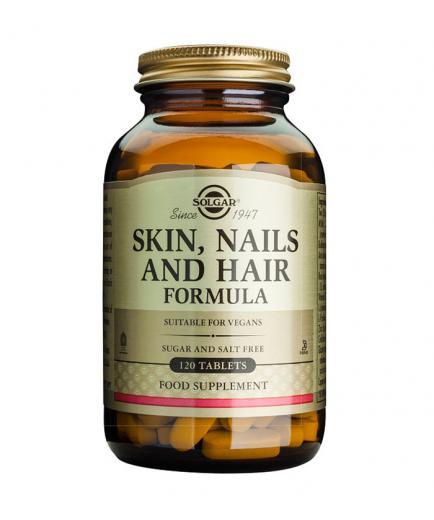 SOLGAR - Food supplement - Skin, nails and hair 120 capsules