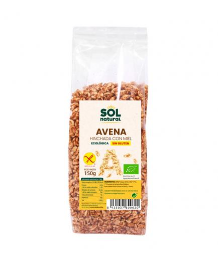 Solnatural - Organic gluten-free puffed oats with honey 150g